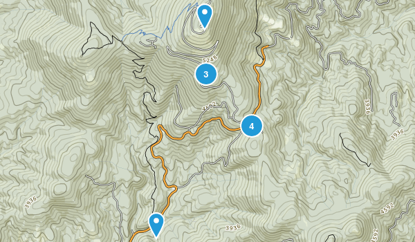 Mead, Washington Nature Trips Map