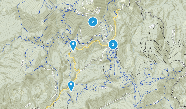 Mead, Washington Trail Running Map