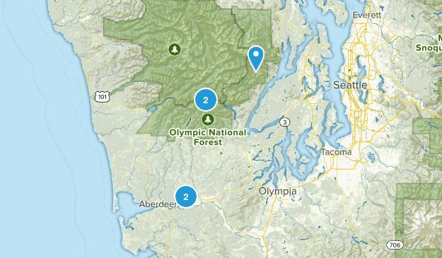 Montesano, Washington Wild Flowers Map