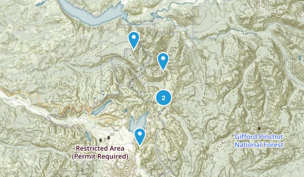 Morton, Washington Hiking Map