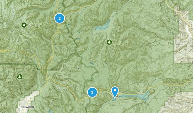Naches, Washington Backpacking Map