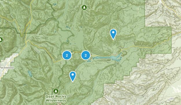 Naches, Washington Horseback Riding Map