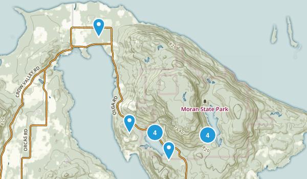 Olga, Washington Birding Map