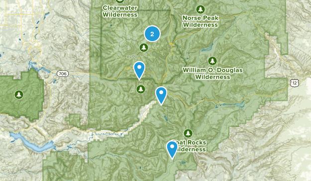 Packwood, Washington Camping Map