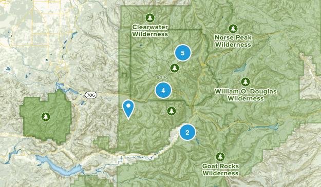 Packwood, Washington Nature Trips Map