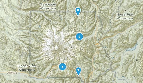 Paradise Inn, Washington Wildlife Map