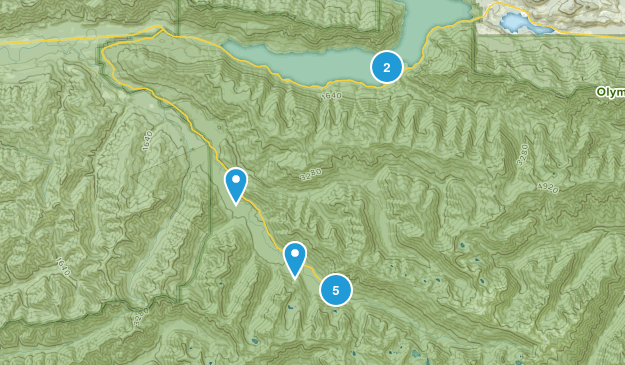 Piedmont, Washington Birding Map