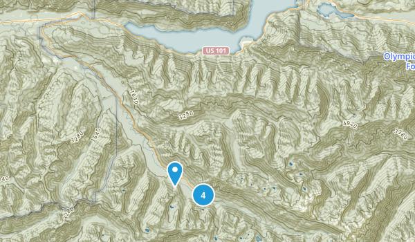 Piedmont, Washington Camping Map