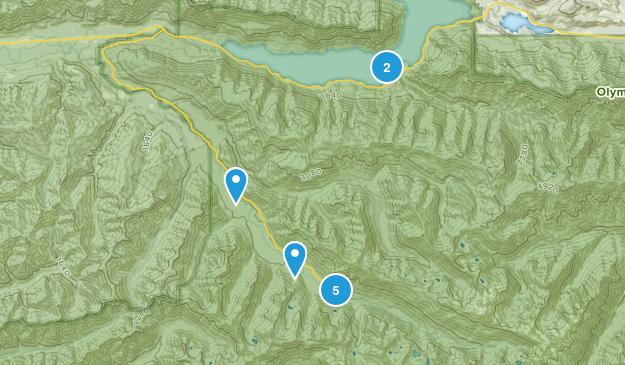 Piedmont, Washington Hiking Map