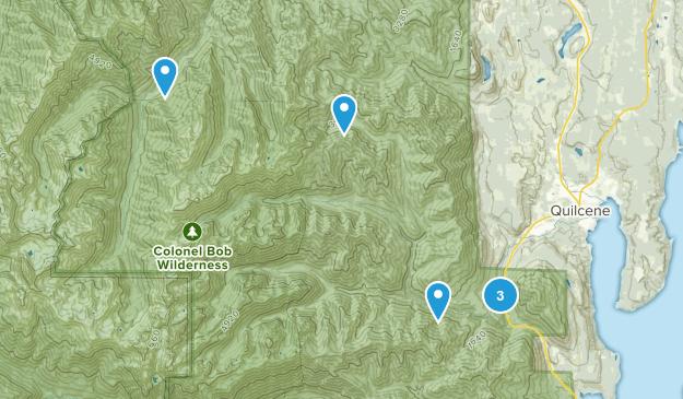 Quilcene, Washington Nature Trips Map