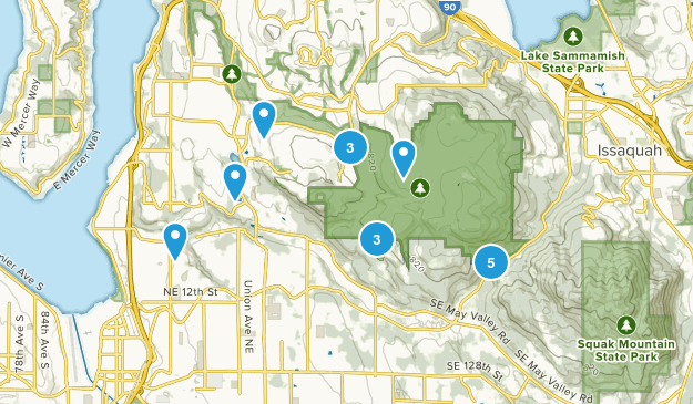 Renton, Washington Dog Friendly Map