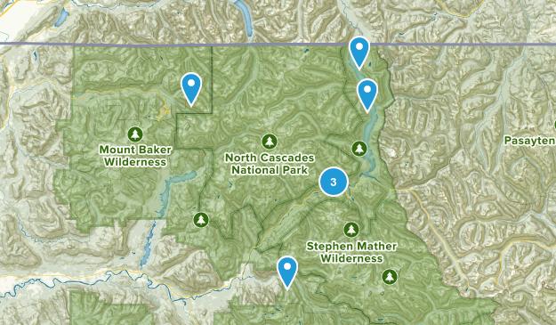 Rockport, Washington Birding Map