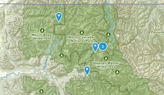 Rockport, Washington Forest Map