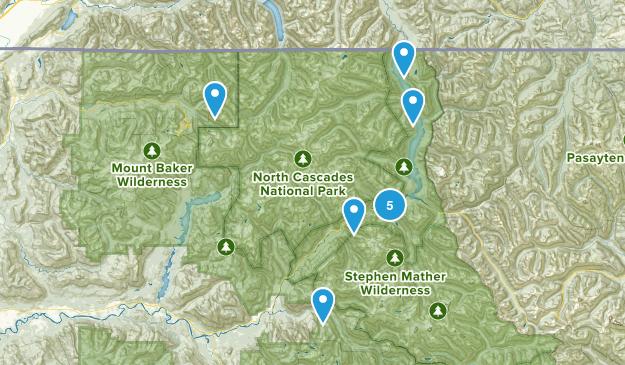 Rockport, Washington Hiking Map