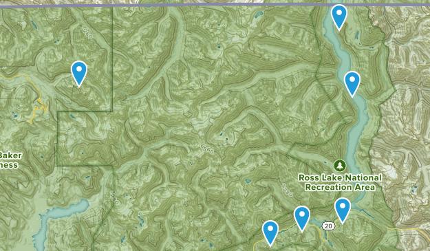 Rockport, Washington Wildlife Map