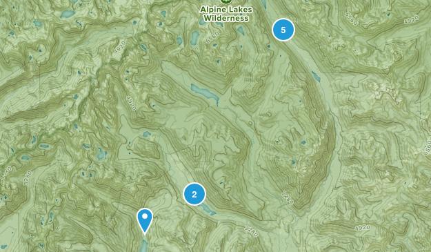Roslyn, Washington Camping Map