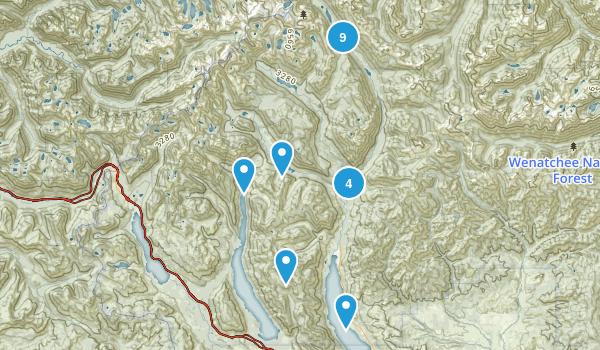 Roslyn, Washington Walking Map