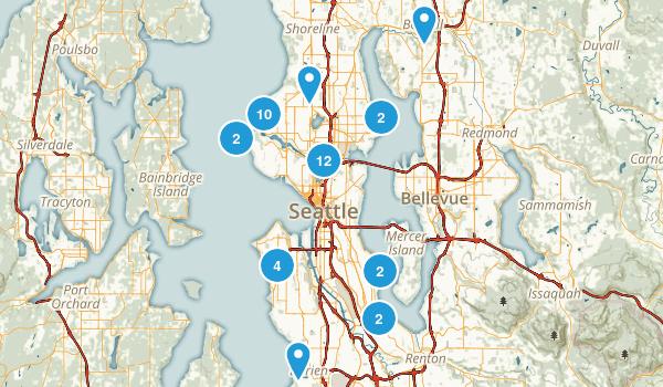 Seattle, Washington Views Map
