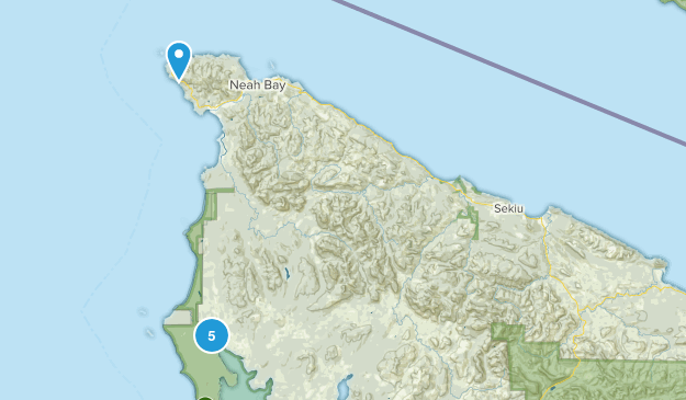 Sekiu, Washington Birding Map