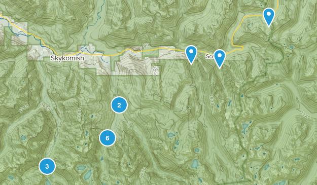 Skykomish, Washington Camping Map