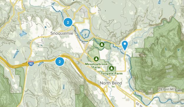 Snoqualmie, Washington Kid Friendly Map