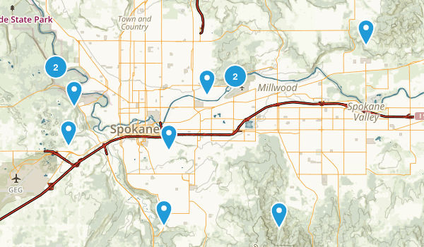 Best Mountain Biking Trails near Spokane Washington AllTrails