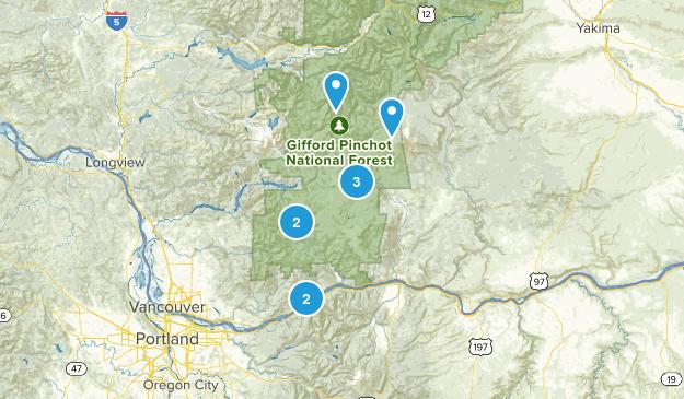 Stevenson, Washington Horseback Riding Map