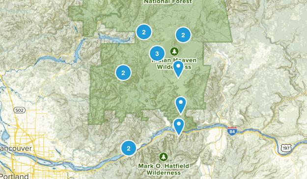 Stevenson, Washington Kid Friendly Map