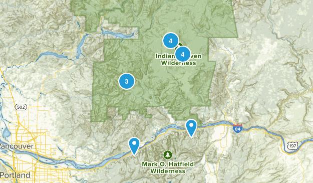 Stevenson, Washington Lake Map