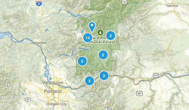 Stevenson, Washington Wildlife Map