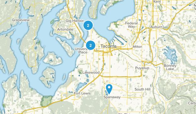 Tacoma, Washington Wildlife Map