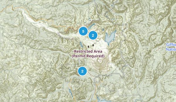 Toutle, Washington Lake Map