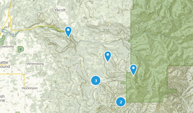 Yacolt, Washington Birding Map