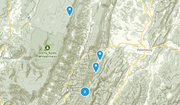 Cabins, West Virginia Birding Map