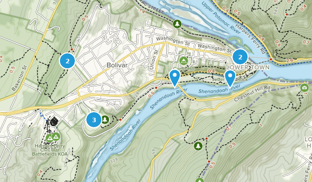 Best Kid Friendly Trails near Harpers Ferry, West Virginia