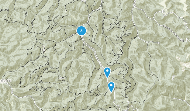 Hernshaw, West Virginia Birding Map