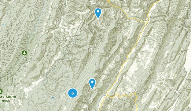 Riverton, West Virginia Walking Map