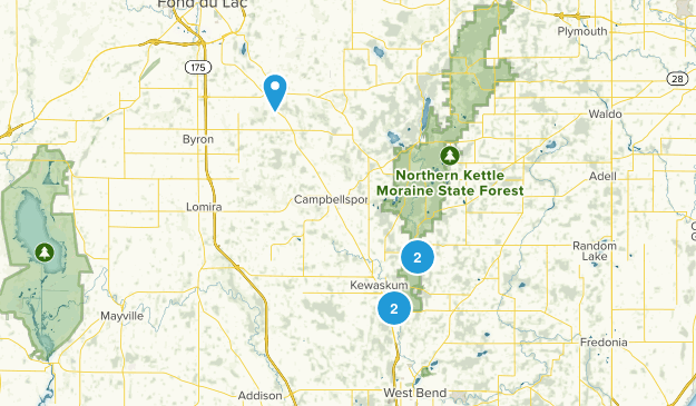 Kewaskum, Wisconsin Views Map