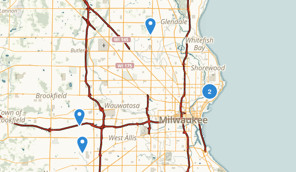 Milwaukee, Wisconsin Kid Friendly Map