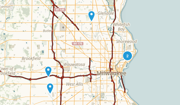Milwaukee, Wisconsin Kid Friendly Map
