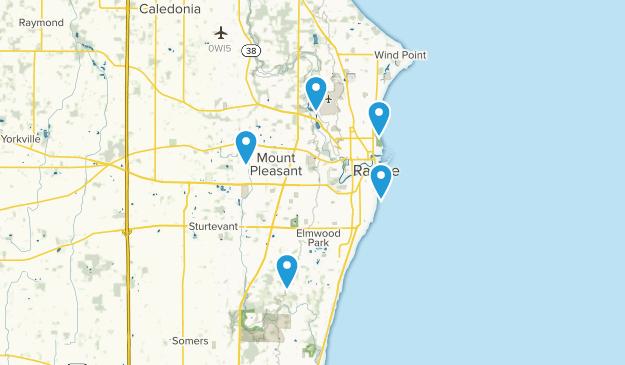 Racine, Wisconsin Views Map
