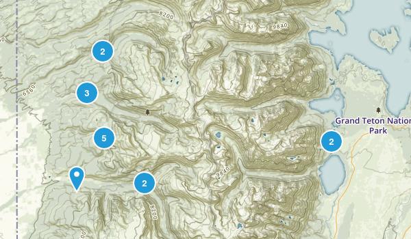 Alta, Wyoming Birding Map