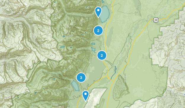 Beaver Creek, Wyoming Birding Map