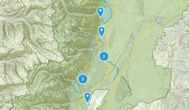 Beaver Creek, Wyoming Trail Running Map