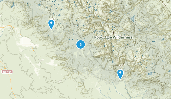 Boulder, Wyoming Fishing Map