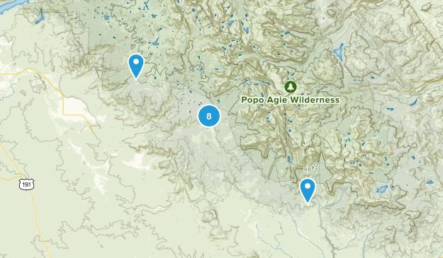 Boulder, Wyoming Fishing Map