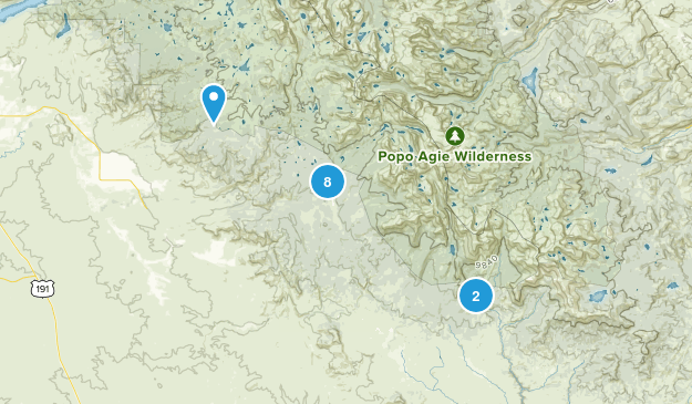 Boulder, Wyoming Nature Trips Map