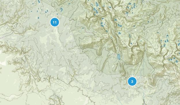 Boulder, Wyoming Views Map