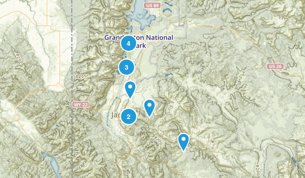 Jackson, Wyoming Birding Map