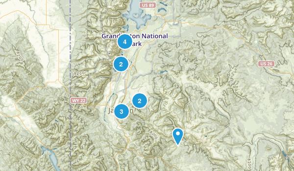 Jackson, Wyoming Walking Map